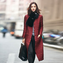 2016 New spring jacket women winter coat women's clothing warm outwear Cotton-Padded long Jacket coat Slim trench coat