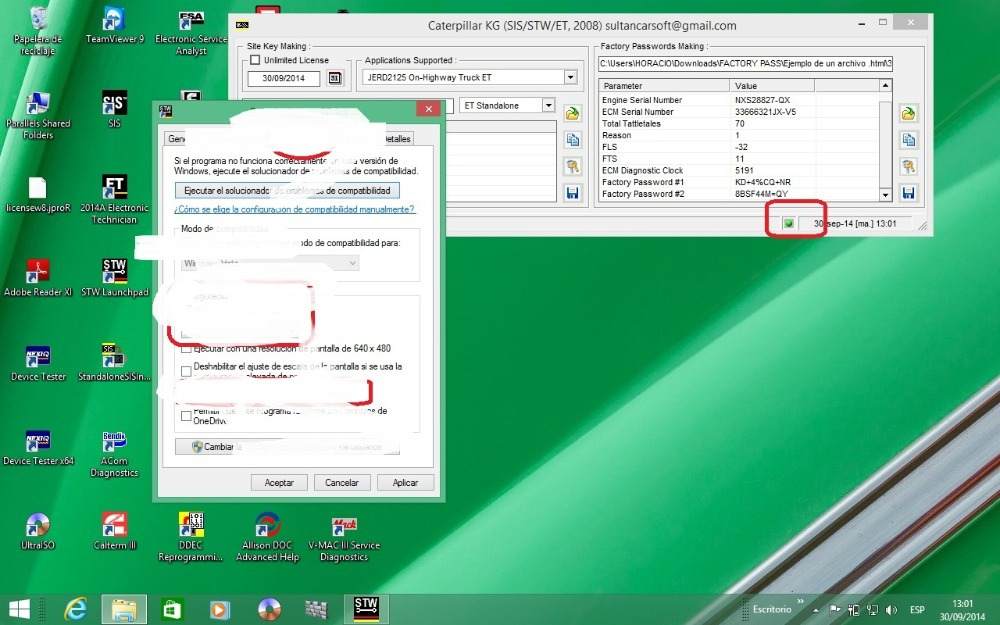 Пароли эт заводской генератор работает на Windows XP810