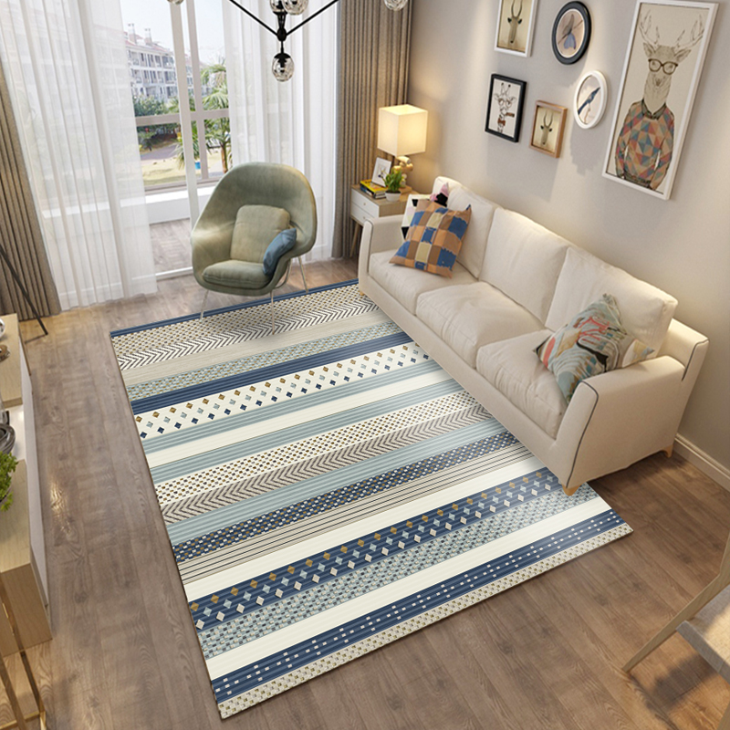 US $36.33 50% OFF|Nordic Abstract Living Room Carpet Home Carpet Bedroom  Sofa Coffee Table Rug Decorative Study Room Floor Mat Modern Rugs Mats-in  ...