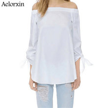 Off Shoulder Blouses And Shirts