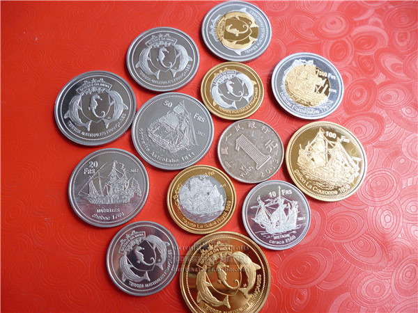 6 French Franc Coins Commemorative The European Arts And Crafts Art Collectible On Aliexpress Alibaba Group