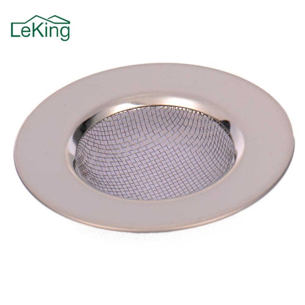 Stainless Steel Round Floor Drain Kitchen Sink Filter Sewer Drain Hair Colanders & Strainers Filter Bathroom Sink Floor Cover  spülbecken sieb