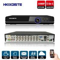 CCTV DVR 16Ch цифрового видео Регистраторы 16 каналов H264 охранных DVR 1080 P HDMI Выход 16CH AHD 2.0mp hybrid 5 в 1 HD DVR