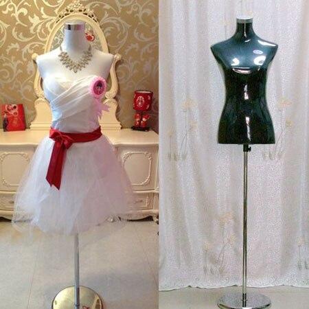Nouveauté demi-corps tissu tissu torse Mannequins femmes robe forme Mannequin offre spéciale