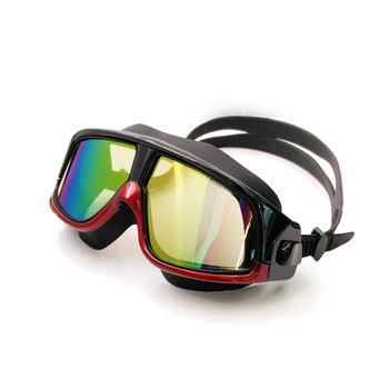 rx prescription hyperopia myopia swimming goggles with snorkel mask free ear plugs & storage case