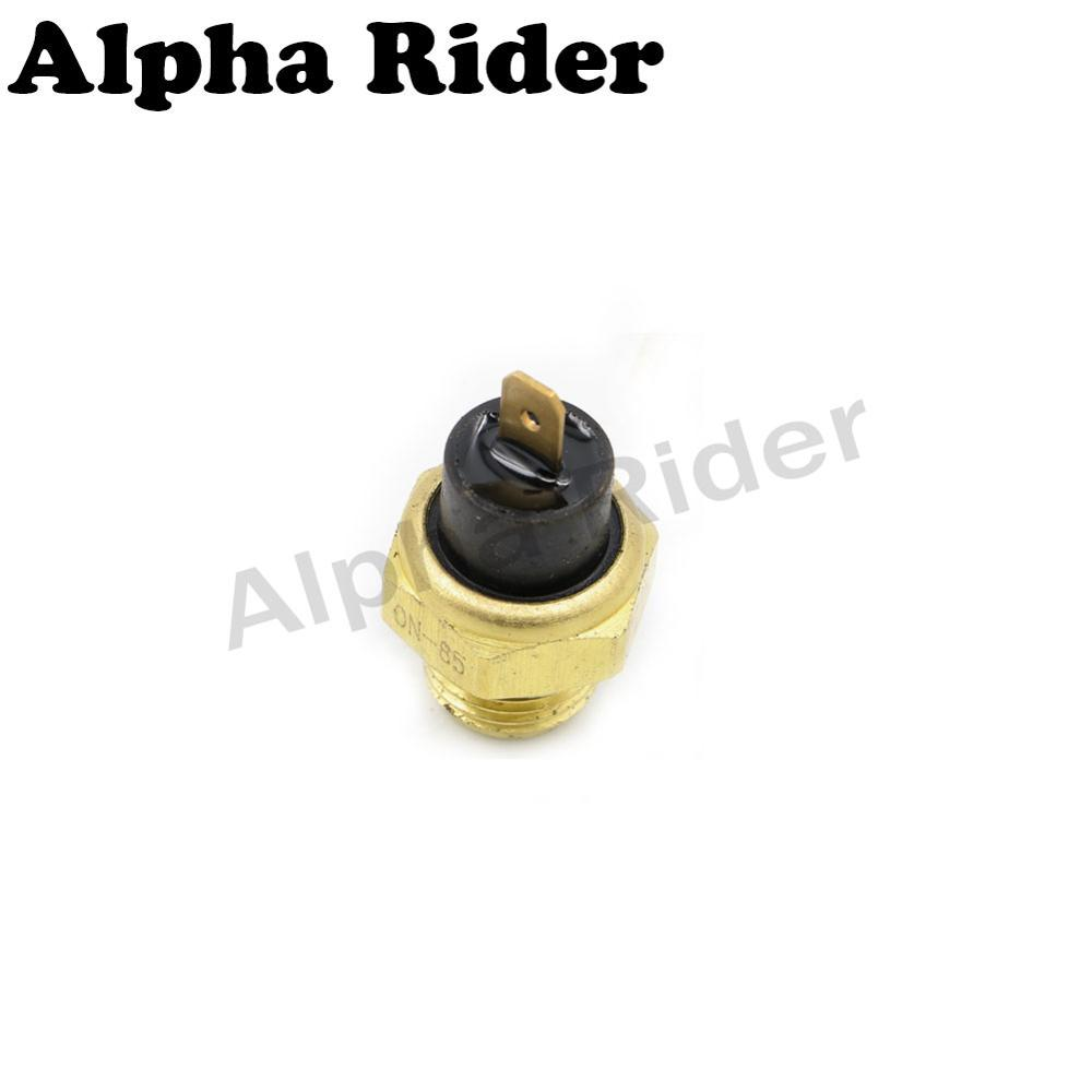 1 Pin Motorcycle Radiator Coolant Water Temperature Sensor Switch Who Makes Honda Thermostat For Steed Vtr Vtec Hornet Cbr Jade Cb 250 400 In Switches From