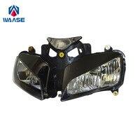 waase Front Headlight Headlamp Head Light Lamp Assembly For Honda CBR1000RR Fireblade 2004 2005 2006 2007