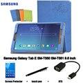 Para Samsung Galaxy Tab E SM-T560 SM-T561 protectora Funda de piel Protectora Shell/Piel Tablet PC latencia caso 9.6-pulgadas