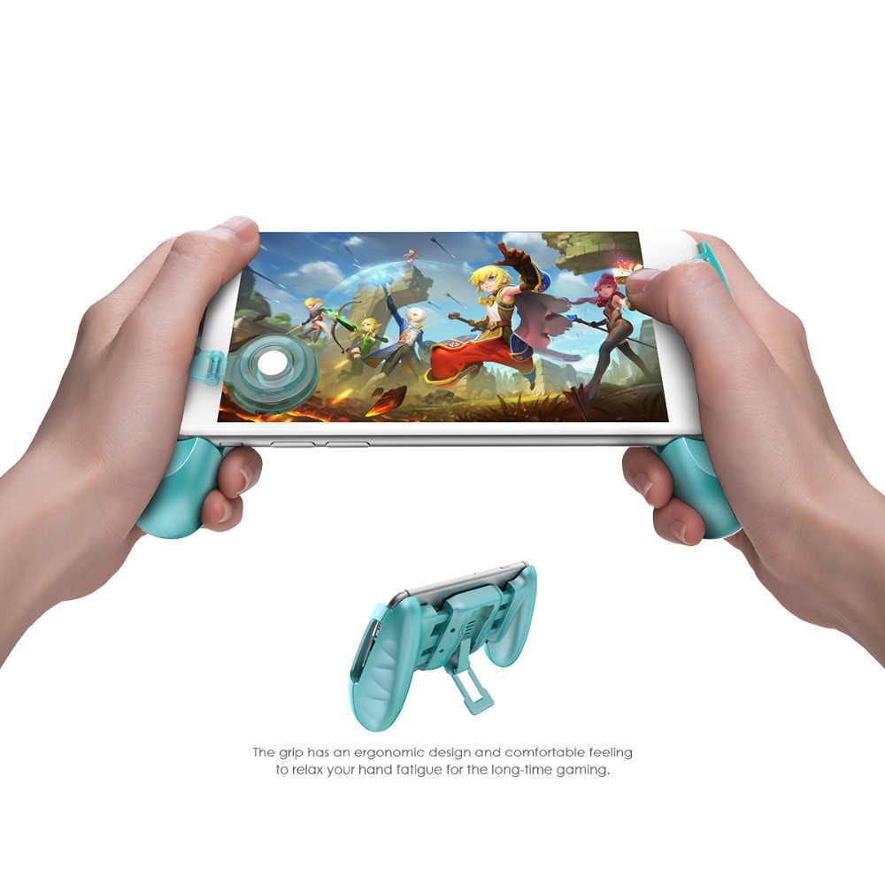Gamesir f1 moba controlador para android & iphone lendas móveis/vainglory etc gamepad aperto prolongado punho