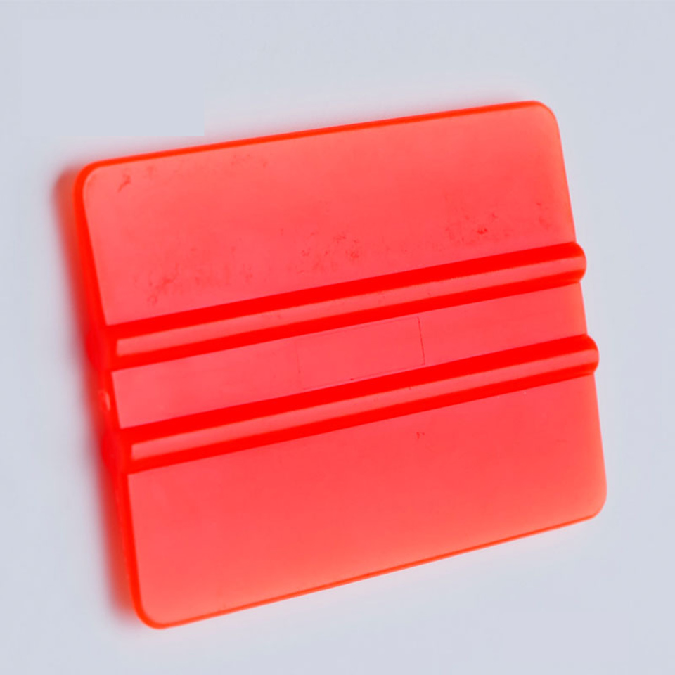 Image 3 - New Arrive Vinyl Applicators 7.5*5.5cm Car Tint Tools Bondo Cards Orange Mini Vinyl Squeegee C 72 Whole Sale-in Car Stickers from Automobiles & Motorcycles