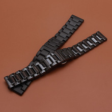 New model Fashion Watchband 2017 unpolished 22mm Ceramic Watchband for Samsung Gear S3 High quality wrist