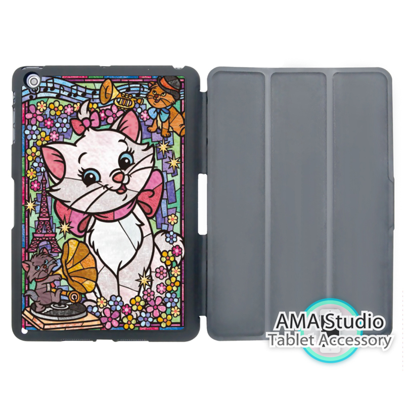 Marie Cat Lovely Stand Smart Cover Case For Apple iPad Mini 1 2 3 4 Air Pro 9.7 Wake UP Sleep marie cat сумочка marie cat