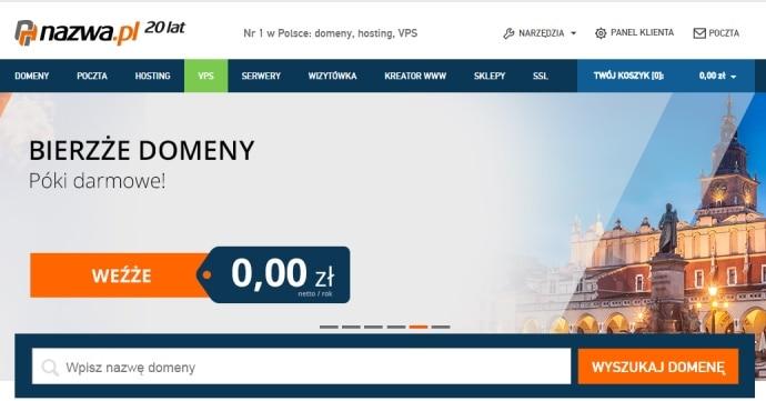 #nazwa#免费注册2个.pl域名和2个.eu域名