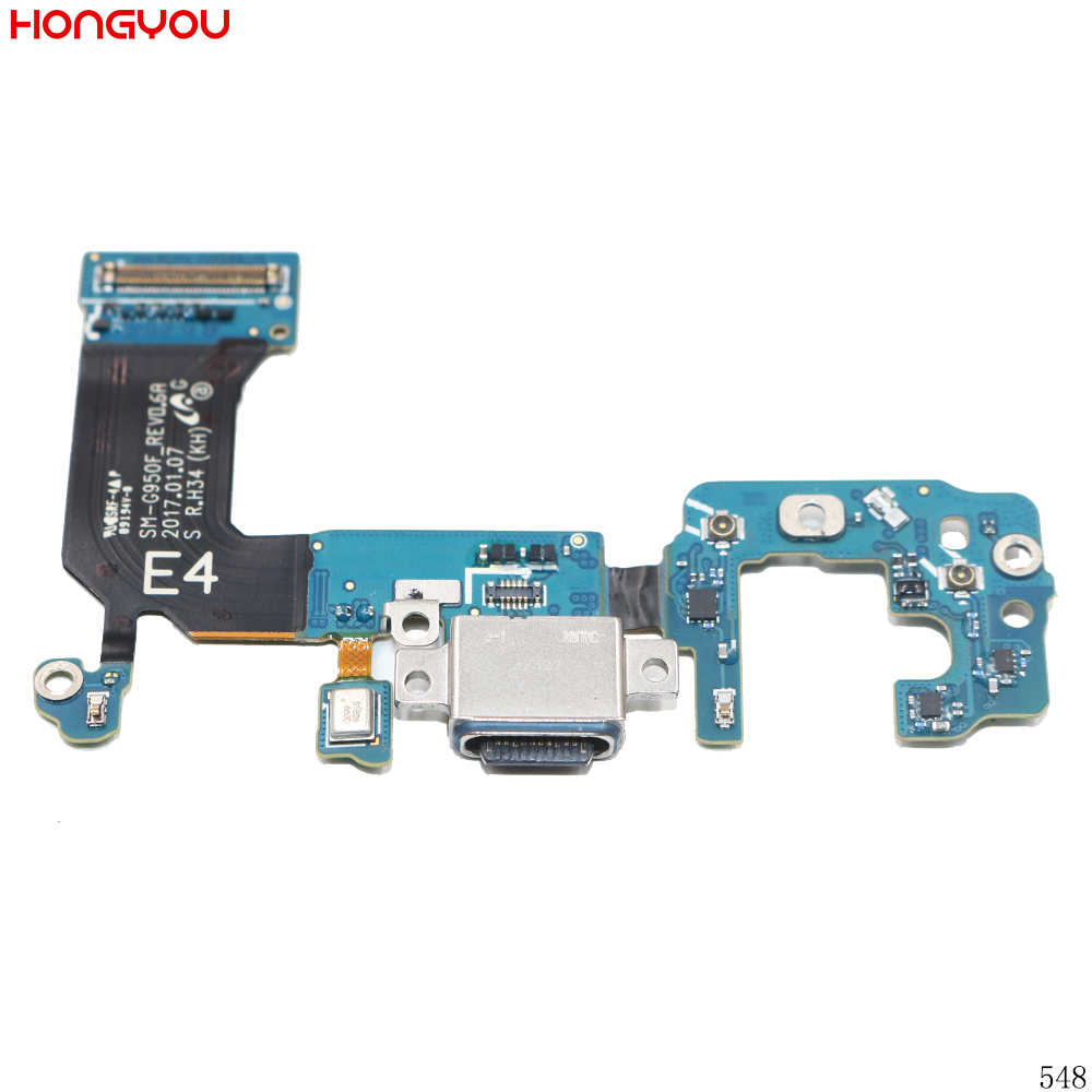 USB Charging Dock Charge Port Socket Jack Plug Connector Flex Cable For Samsung Galaxy S8 <font><b>G950F</b></font> <font><b>SM</b></font>-<font><b>G950F</b></font> image