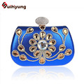 2016 New Women's Diamond Clutch Bag Fashion Glitter Leather Wedding Crystal Small Clutch Party Evening Bag Purse Ladies Handbags