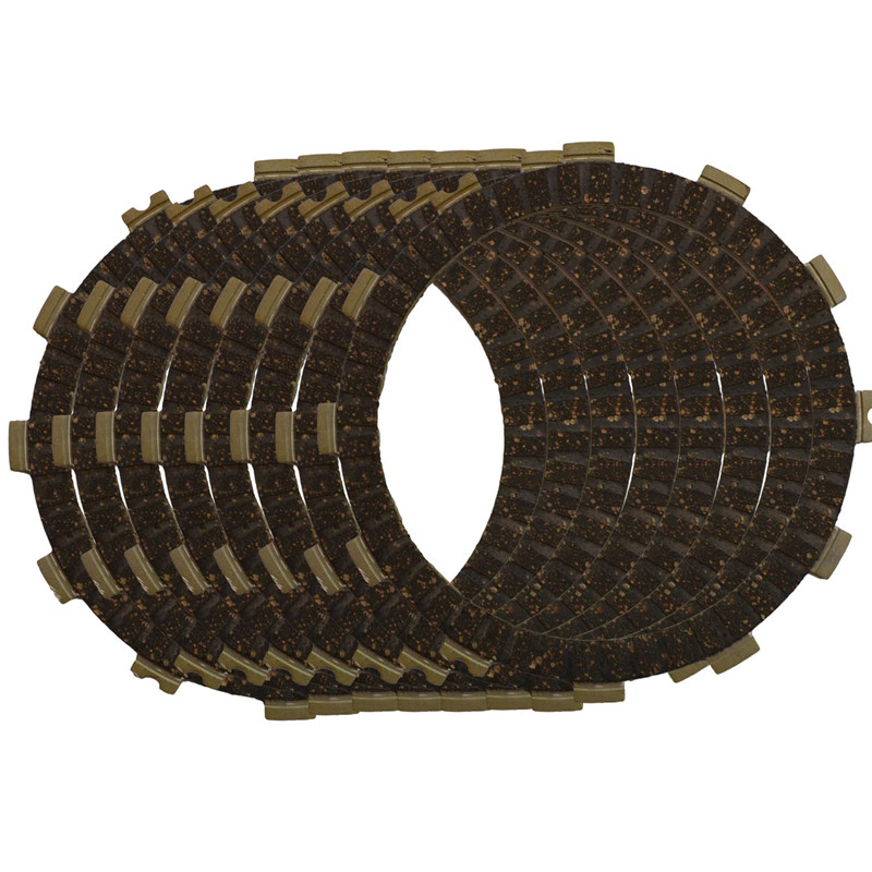 AHL Motorcycle Clutch Friction Plates Set For HONDA CR250R CR250 R 1983-2007 Clutch Lining #CP-00037