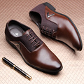 Business casual leather male genuine leather formal leather fashion trend leather cowhide shoes male