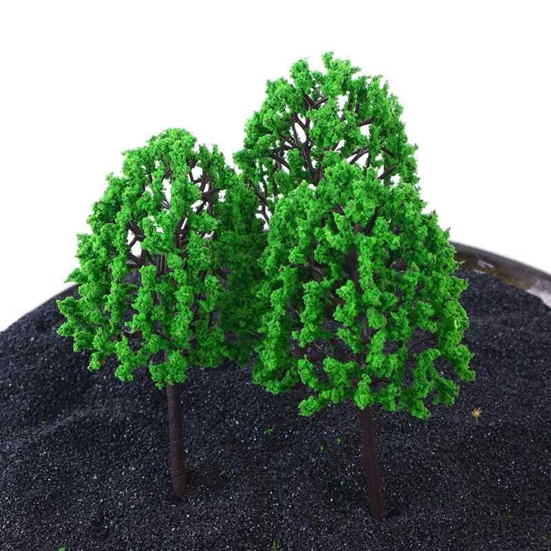 BESTOYARD 12 шт. 14,5 см Искусственный сосна искусственные растения декоративные Lifelike Зеленые растения для Офис Microlandschaft