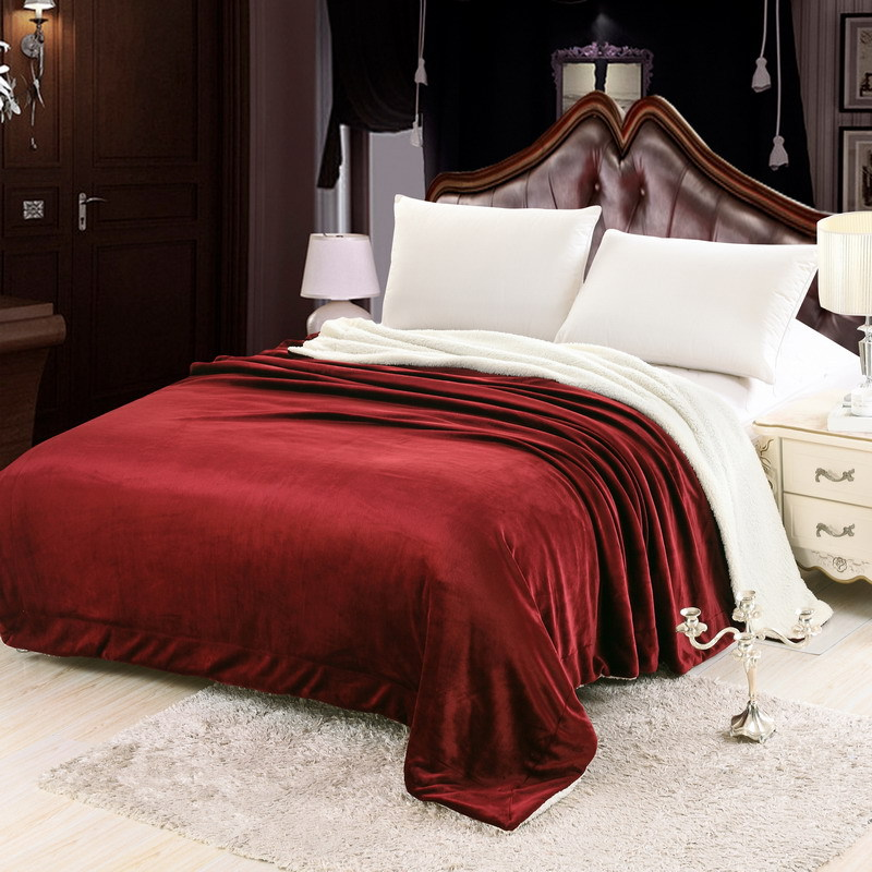 SongKAum Luxury Blanket Bedding New Fashion Imitation Cashmere Blanket Newborn Infant High Quality Carpet Kids Blanket - 3