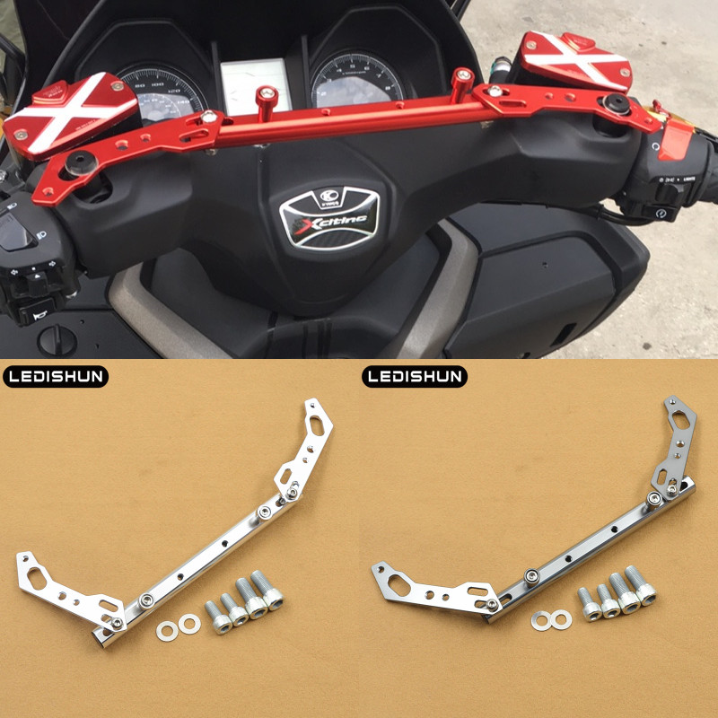 For AEON ELITE 300E 300i For SYM Maxsym 400i CNC Aluminum Motorcycle Mutifunctional Cross Bar Balance