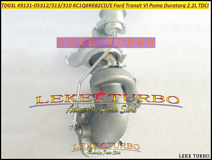 цены  TD03L4 49131-05312 4913105310 4913105313 6C1Q6K682CD 6C1Q6K682CE Turbo For Ford Transit VI 2006-08 Puma Duratorq V347 2.2L TDCI