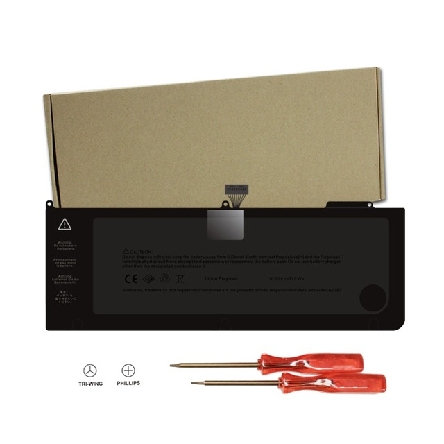 """New Laptop Battery for Apple A1382 A1286 (only for Core i7 Early 2011 Late 2011 Mid 2012)  15"""" i7, also fit 661-5476 661-5211"""