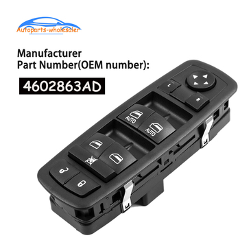 OEM 4602863AD 04602863AD для 2009-2012 Dodge Ram 1500 2500 3500 Автомобиль Мощность мастер переключатель окна автомобильные аксессуары