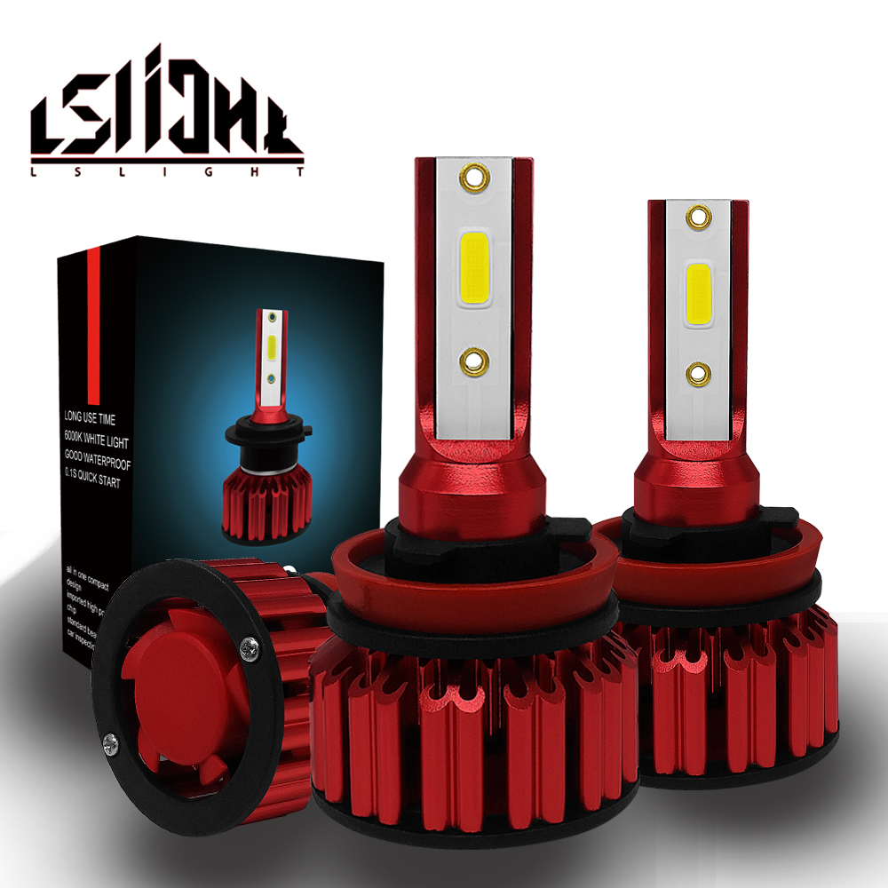 LSlight Auto LED Bulbs H7 H4 9005 9006 H11 HB2 HB3 HB4 Headlight 72W 8000LM 6000K 12V 24V Turbo LED Automotivo Lampada LEDlampLSlight Auto LED Bulbs H7 H4 9005 9006 H11 HB2 HB3 HB4 Headlight 72W 8000LM 6000K 12V 24V Turbo LED Automotivo Lampada LEDlamp