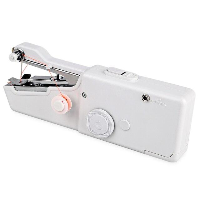 Mini Electric Sewing Machine Stitch Set Portable Handheld Sewing Amazing Portable Mini Electric Handheld Sewing Machine