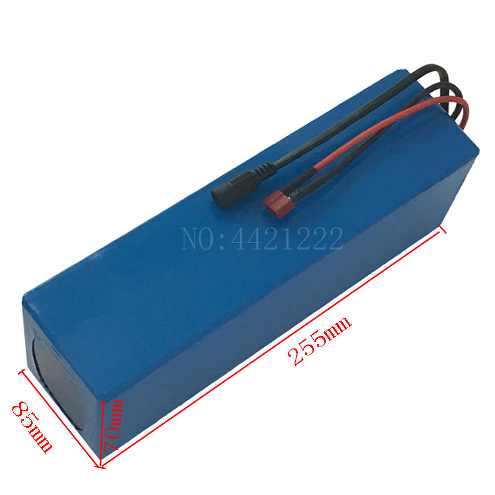 48V electric bicycle battery 48V 8AH Li-ion battery 48V Lithium battery pack and 54.6v 2A charger for 48V 500W 750W ebike