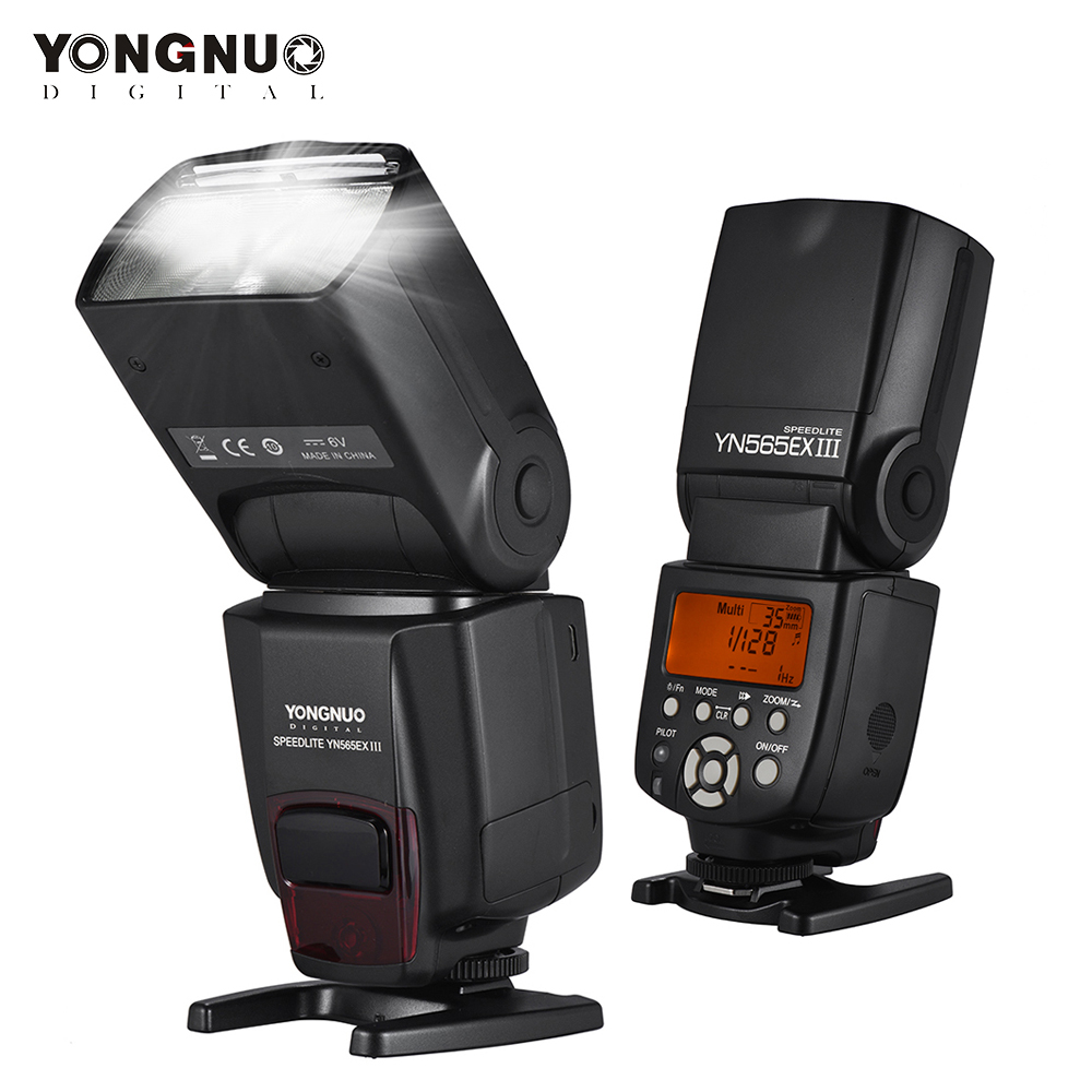 YONGNUO Speedlite YN565EX III C Wireless TTL Flash Speedlite For Canon Cameras 500D 550D 600D 650D 1000D 1200D 1300D 5DIII/IV 6D цена