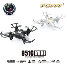 FQ777 951C 2 4Ghz 6 Axis Gyro RC Quadcopter Helicopter Mini Drone With Camera Record
