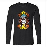 Rock Band Guns N Roses Men TShirt Long Sleeve Punk T Shirts And Hip Hop Funny