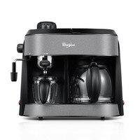 Amerikanischen Italienischen Kochen Tee Triple Kaffee Maschine Haushalt Voll Automatische Dampf Art Dampf Milch Schaum 20bar Extraktion