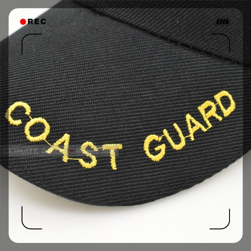 b9af99445d4 CLIMATE 2017 New USA Coast Guard Army Uniform Adjustable Black Cool ...