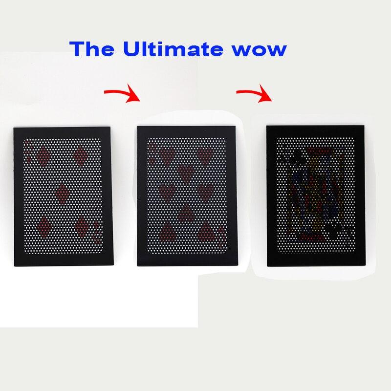 1 pcsThe Ultimate WOW 3,0 versión cambio dos veces último intercambio magia trucos ilusión mentalismo prop magia juguete accesorios 83005