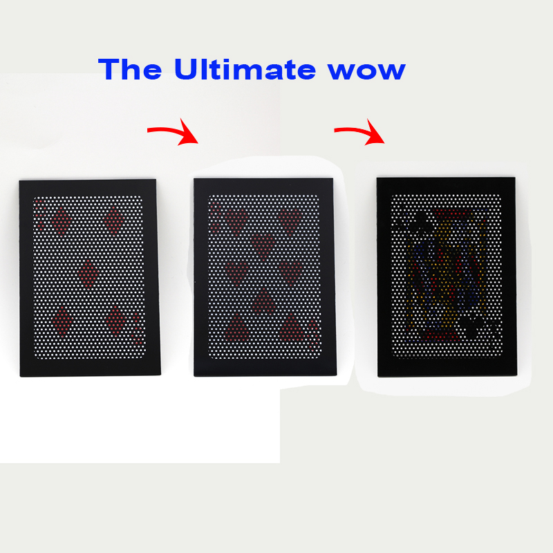 1pcsThe Ultimate WOW 3.0 Version Change Twice Ultimate Exchange magic tricks illusion mentalism prop magia toy Accessories 83005