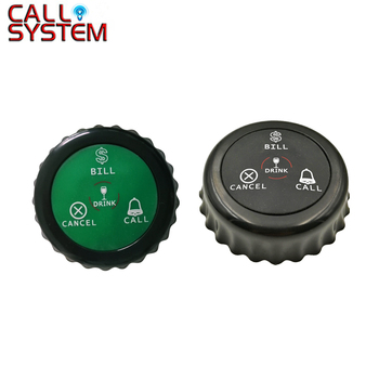 Ycall 7pcs Call Button K-J4 call bell call waiter push button fast food restaurant Table service Call Button