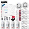 KERUI WIFI GSM Einbrecher Sicherheit Alarm System PIR Motion detektor Tür Sensor Alarm Detektor Alarm