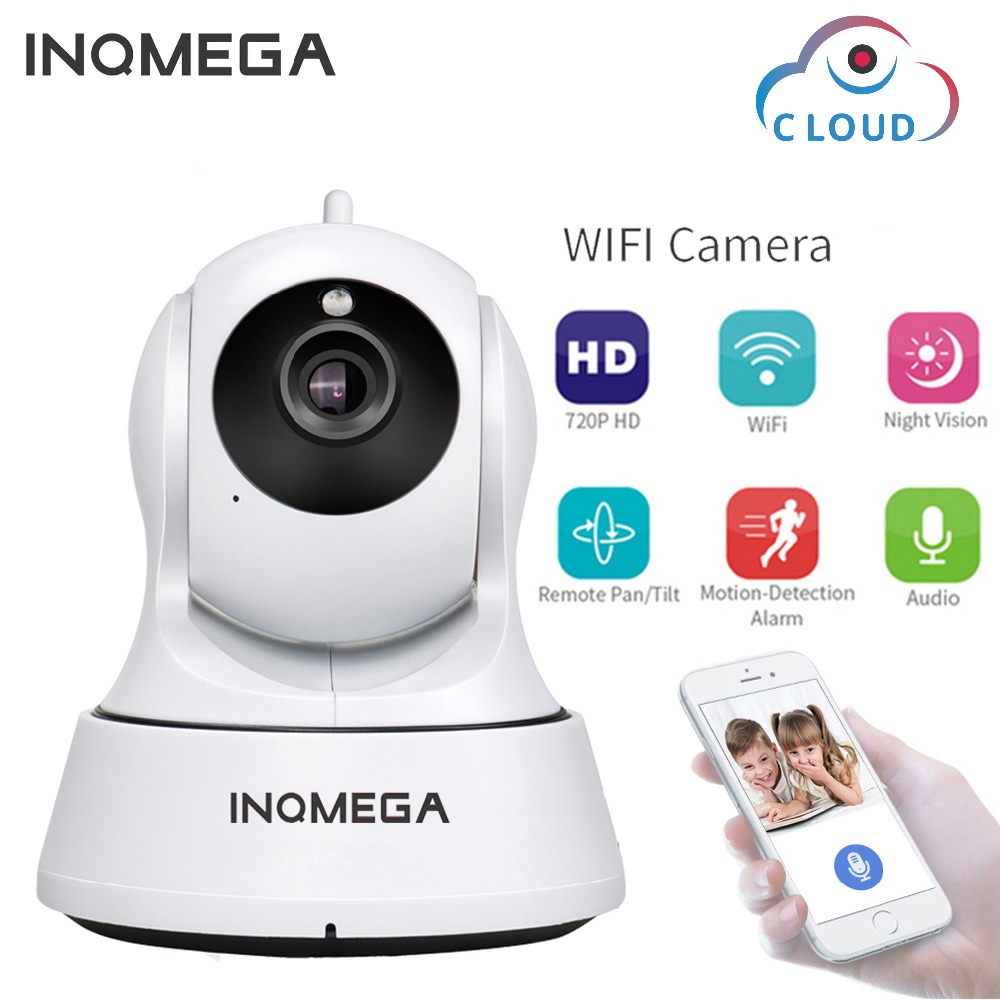 INQMEGA 720 p Cloud Speicher IP Kamera WiFi cam Home Security Surveillance CCTV Netzwerk Kamera Nachtsicht Pan Tilt Baby monitor