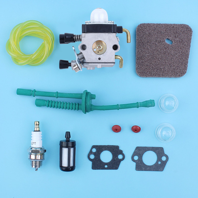 Carburetor Carby Fuel Air Filter Line Kit Fit Stihl FS38 FS45 FS46 FS55  KM55 FS85 Trimmer Cutter-in Chainsaws from Tools on Aliexpress com    Alibaba