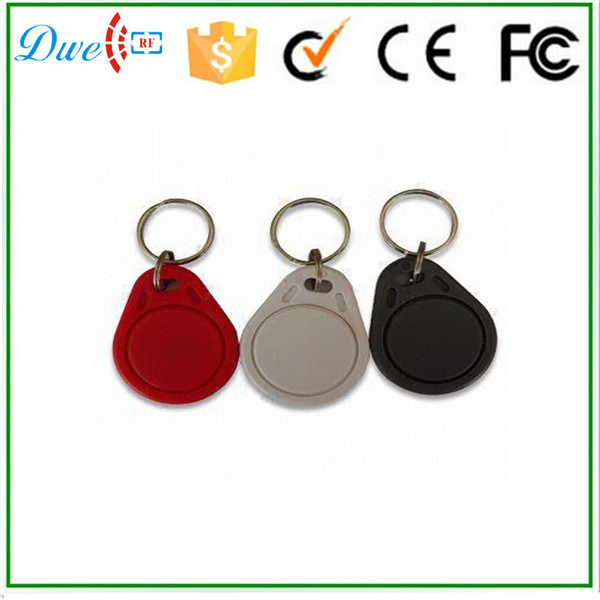 FM1108 13.56MHz RFID IC Key Tags for access control reader