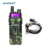 Big Power 3800mAh Battery Baofeng Uv 5R Walkie Talkie For Hunting Camoflage Color VHF UHF Walkie