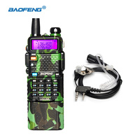 Big Power 3800mAh Battery Baofeng Uv 5R Walkie Talkie For Hunting Camoflage Color VHF UHF Walkie
