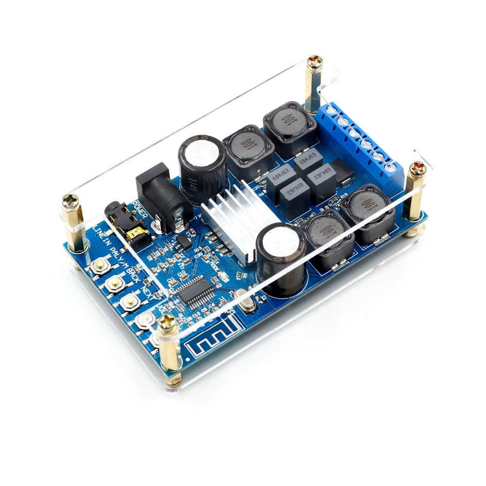 Bluetooth Digital Amplifier For Audio Power Board Dual Channel 50Wx2 Without POP Sound Integrated Circuits Z10 Drop ship