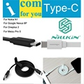 Original Nillkin 5V 2A USB Type C Cable Type-C To USB 2.0 Charging Sync Data For Xiaomi / Nokia / LG / Huawei / Meizu / OnePlus