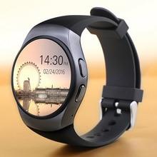 Neuankömmling bluetooth Smart Watch tragbare geräte kw18 Herzfrequenz SmartWatch für iphone Android-Smartphone pk gv18 Uhr uhr