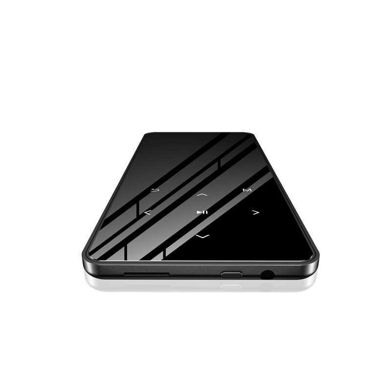 新バージョン Bluetooth タッチハイファイ MP3 音楽プレーヤースリムウォークマン 4 グラム 8 グラム 16 グラムを実行するためのスーツウォーキングや登山エージェント bulit インスピーカー