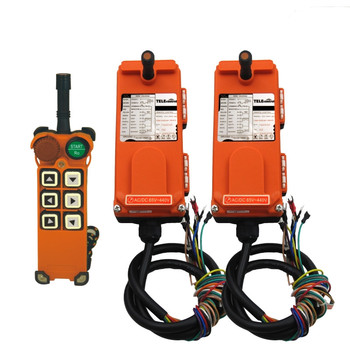 Telecontrol  F21-E1  Industrial  remote control 1 transmitter+2 receivers for crane and hoist