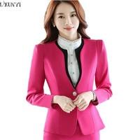 Spring Autumn Korean Ladies Blazers OL Work Long Sleeve Slim Shrug Women Blazers And Jackets Fashion